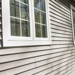 New Gray Vinyl Siding